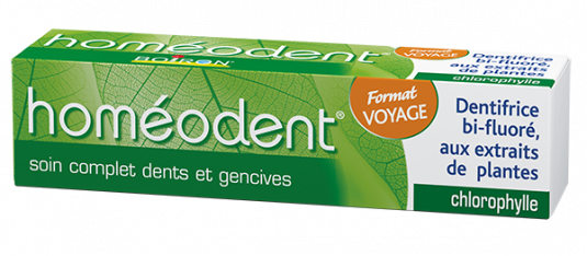 Homéodent soin complet format voyage